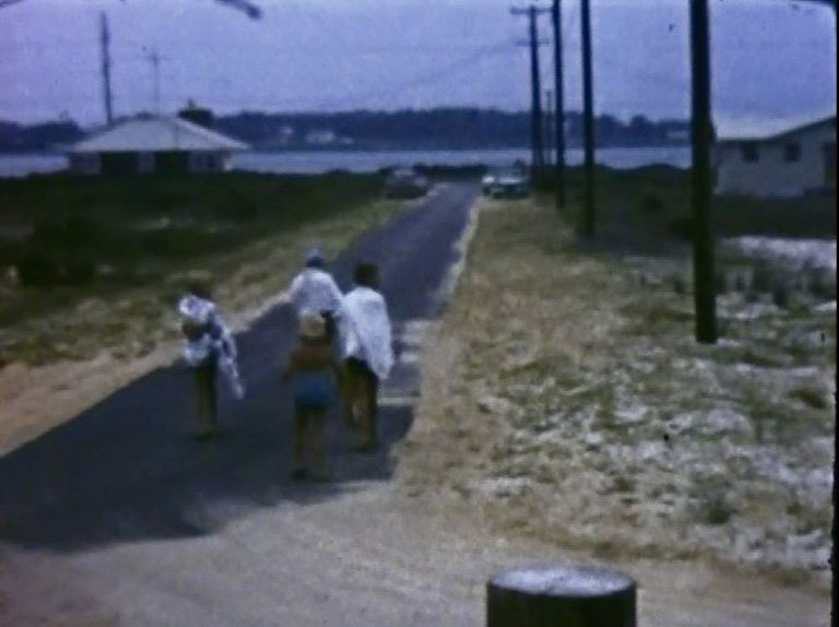 4 Admiral Rd 1961 from Dune toward Bay